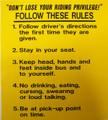 SB42B, Follow These Rules (1-5)