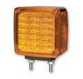 ECV4FPTMA, Sound Off LED Dual Face Turn Signal Marker Light (Amber/Amber)