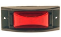 Sound Off LED 150 Series Marker Light w/Mounting Guard & Harness (Red)