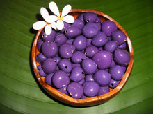 Purple Pained Kukui Nuts