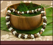Kukui Nut Deluxe with White Shells