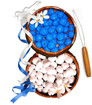 Kukui Nut Lei Making Kit - Three Kukui Nut Leis