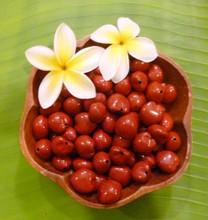 Maroon Loose Kukui Nuts