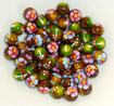 Mini Hawaiian Wood Beads - 180 per order