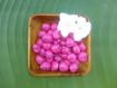 Loose Kukui Nuts Magenta 150 per Order