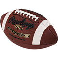 Rawlings PRO5Y Leather Youth Football