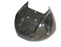Glossy Plain Weave Carbon Fiber Heat Shield for Ducati Panigale 899,1199