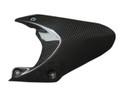 Glossy Plain Weave Carbon Fiber Rear Hugger for Triumph Daytona 675 06-12