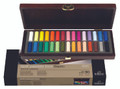 Rembrandt Wooden Box with 30 Half Pastels
