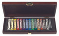 Rembrandt Wooden Box with 15 Whole Pastels