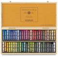 Sennelier Wooden Box with 50 Whole Pastels