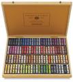 Sennelier Wooden Box with 100 Portrait Whole Pastels