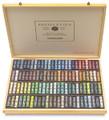 Sennelier Wooden Box with 100 Landscape Whole Pastels