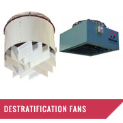 De-Stratification Fans