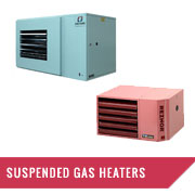 Suspended Gas Heaters