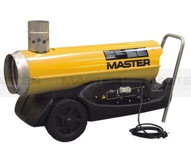 Master B150 Dual Voltage CED Direct Oil Fired Portable Heater