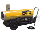Master BV77E Indirect (flued outlet) oil fired portable heater 20kw