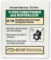 Floor Conditioner and Neutralizer