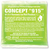 Concept 915 Ice Melt Stain Remover pack