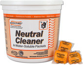 WATER FLAKES Neutral Cleaner Orange Tub