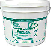 Powdered Detergent Disinfectant Cleaner