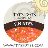 Sinister Glow in the Dark Designer acrylic mix by Tye's Dyes