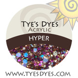 Hyper A Blingy Brown and many other chunky colors mix to make your head spin