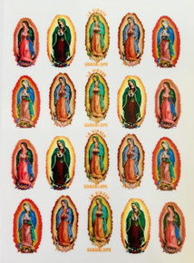 Guadalupe Nail Decals (Set Of 10)