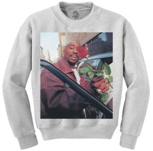 With Love, From Pac Crewneck (Grey)