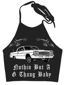 Nuthin But A G Thang Halter Tank
