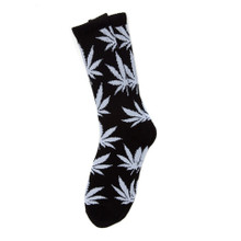HUF Plantlife Crew Socks Black/White