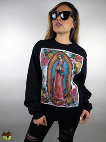 Apple Sauced Guadalupe Crewneck