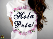 Apple Sauced Hola Puta Tee