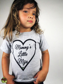 Apple Sauced Mommy's Little Mija Toddler Tee