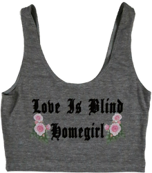 Apple Sauced Love Is Blind Homegirl Crop Tank