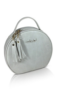 Classic Tassel Circle Bag- Grey SOLD OUT