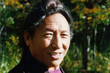 "Lama Tharchin Rinpoche in the Sun Photo 4""x6"""