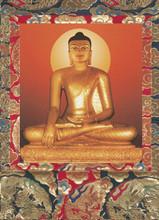 Bodhgaya Buddha Deity Card