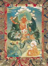 Manjushri Deity Card