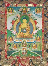 Medicine Buddha (Image 3) Deity Card