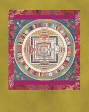 Kalachakra Mandala - Large Deity Card