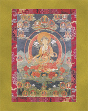 Twenty-One Taras - Large Deity Card