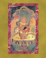 Dzambhala (Shri Vaishravana) - Large Deity Card