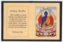Medicine Buddha - Folding Thangka