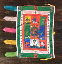 Gesar Vertical Prayer Flag (Medium)