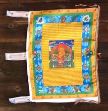 Dzambhala Vertical Prayer Flag (Large)