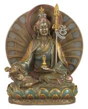Guru Rinpoche (Padmasambhava) Bronze Finish Resin Statue