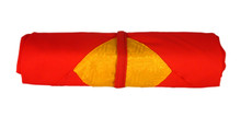 Red and Yellow Pecha Wrapping Cloth
