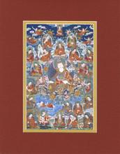 Padmasambhava & 25 Disciples, Giclee Canvas Print