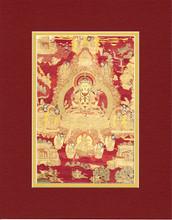 Chenrezig (Avalokiteshvara) Red, Giclee Canvas Print